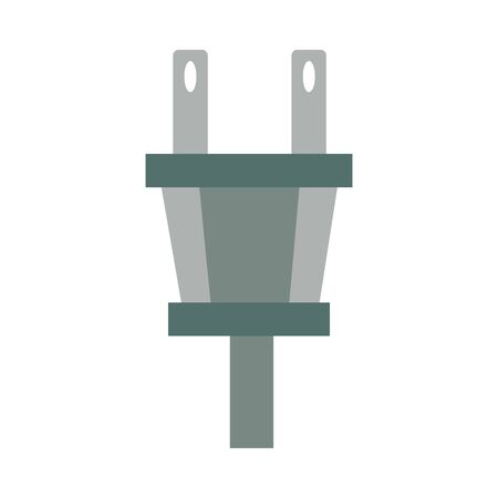 energy wire plug isolated icon vector illustration design