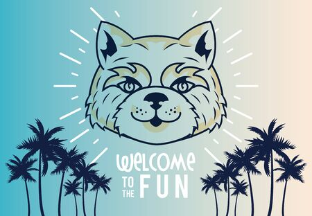 wild tigress spirit creative design vector illustration graphic