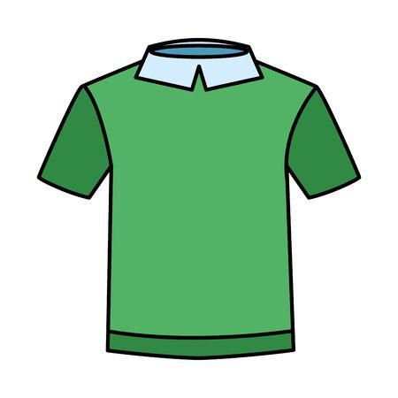shirt clothes wear isolated icon vector illustration design Vektorové ilustrace