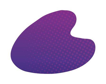 purple abstract figure background vector illustration design