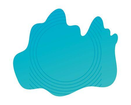 blue abstract figure background vector illustration design