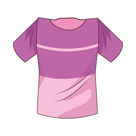 youth jersey clothes isolated icon vector illustration design
