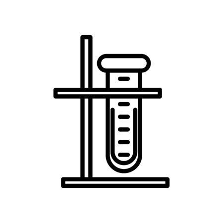 tube test laboratory isolated icon vector illustration design Banco de Imagens - 150248418