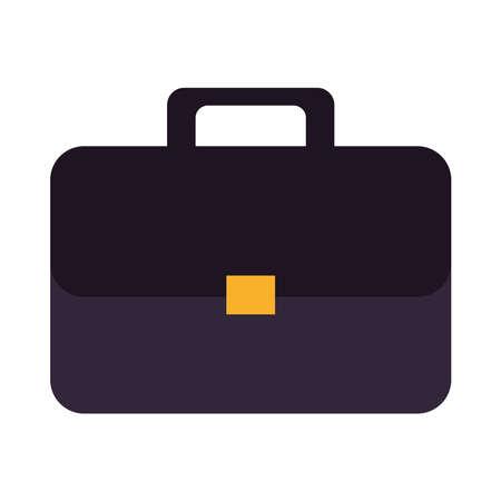 portfolio briefcase documents isolated icon vector illustration design