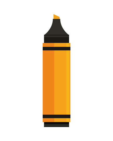 marker color supply isolated icon vector illustration design