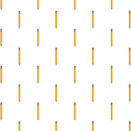 pencils school supplies pattern background vector illustration design