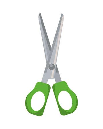 scissors school supply isolated icon vector illustration design