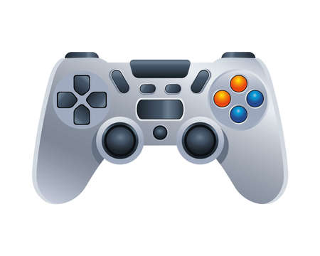 video game control device icon vector illustration design