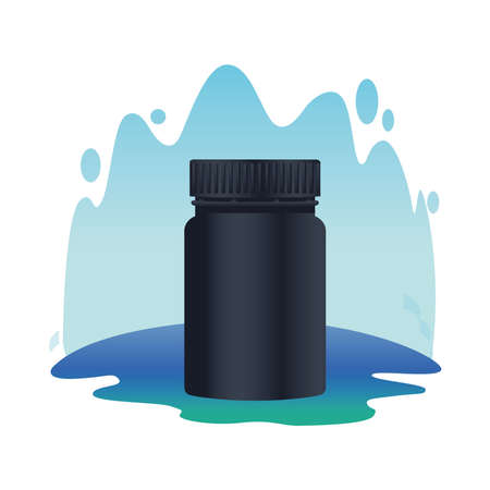 pot product branding isolated icon vector illustration design