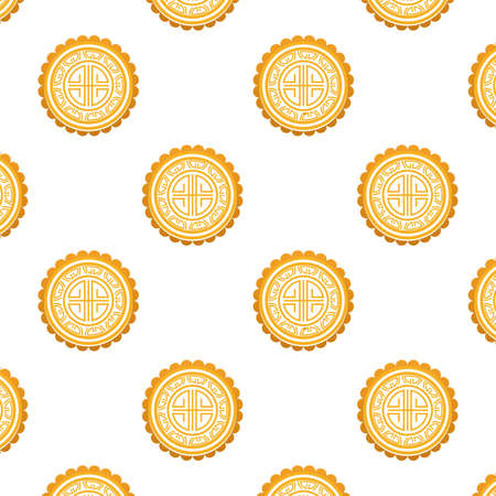 japanese seals stamps pattern background vector illustration design