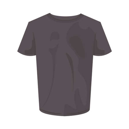 gray tshirt design, Cloth fashion style wear and store theme Vector illustration Vektorgrafik