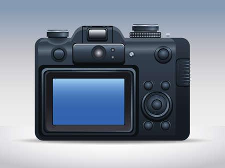 camera digital technology isolated icon vector illustration design