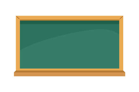 chalkboard school supply isolated icon vector illustration design
