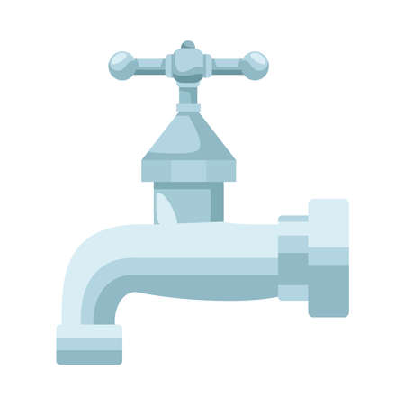 water faucet tap isolated icon vector illustration design 일러스트