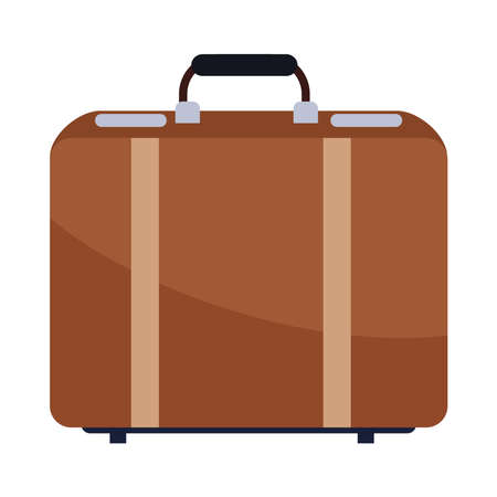 travel suitcase accessory isolated icon vector illustration design