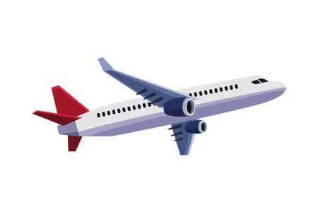 airplane flying travel isolated icon vector illustration design 免版税图像 - 157526716