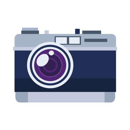 photographic camera device isolated icon vector illustration design