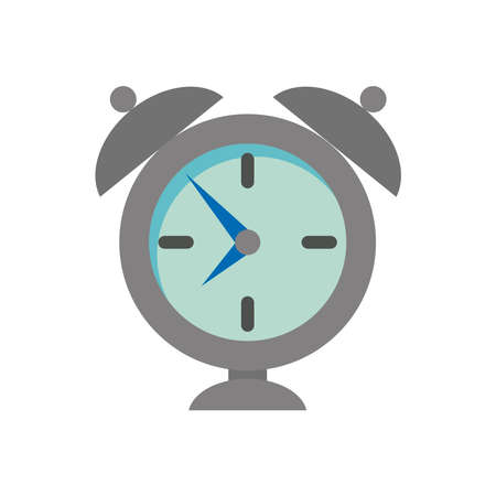 alarm clock ring isolated icon vector illustration design