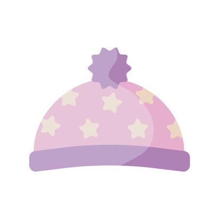hat baby clothes flat style icon vector illustration design Vecteurs