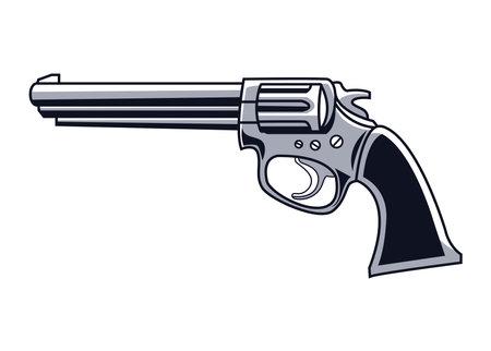 gun drawn style icon