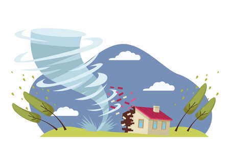 air twister disaster natural scene