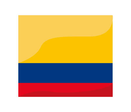 colombia resists flag Vettoriali