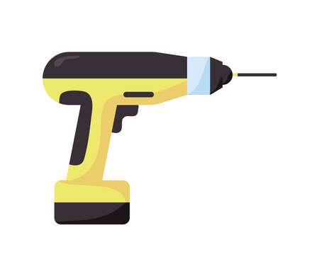 electric driller tool Vettoriali
