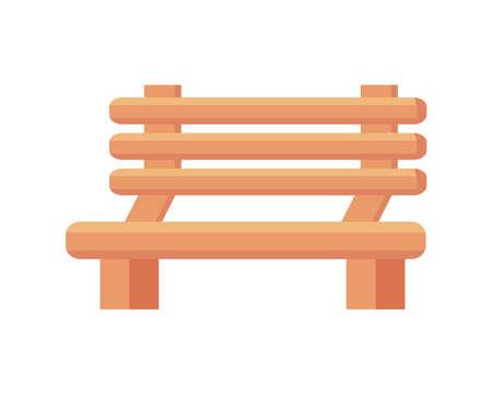 wooden bench garden