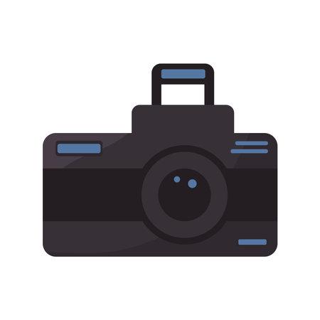 photographic camera device Vettoriali