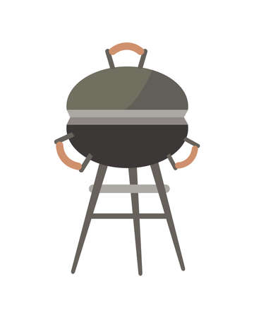 grill bbq oven Vettoriali