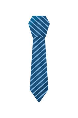 necktie accessory elegant Vettoriali