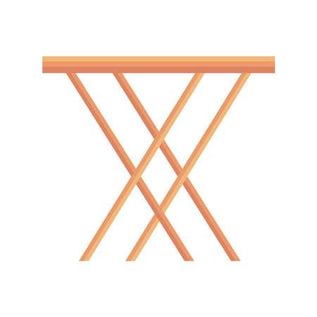 wooden table garden