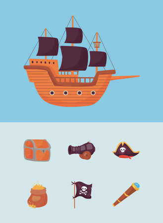 seven pirate icons