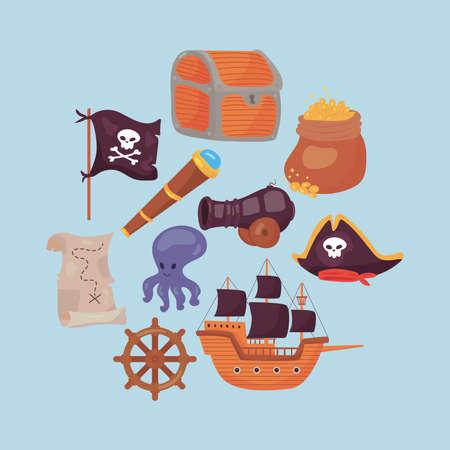 ten pirate icons