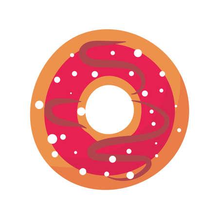 donut pastry bakery icon