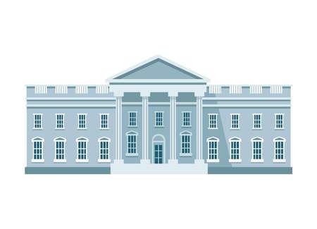 the white house Vector Illustration