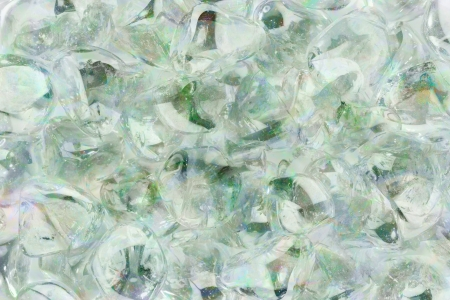 Green toned glass stones in abstract pattern with marble effect Stock Photo - 20452548