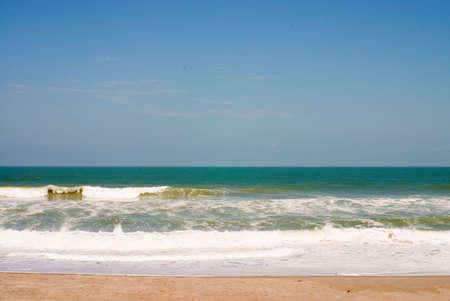 Ocean Atlantycki plaża / surf sceny Zdjęcie Seryjne - 345571