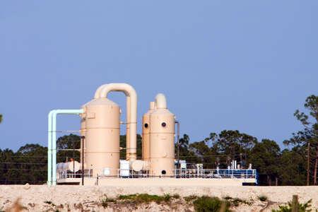 Public utility water treatment plant