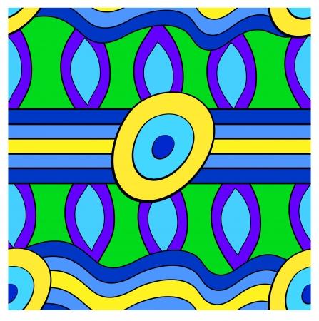 fanciful: Colorful laconic seamless pattern