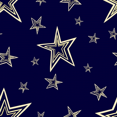 seamless pattern set with stars and sky. Four contrast colorful variants Stock Vector - 16938889
