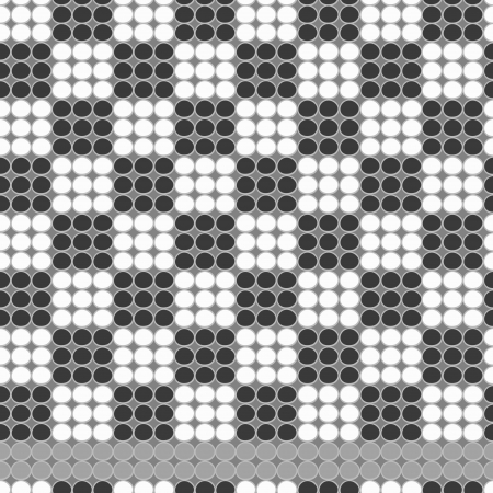 Chess bead work pattern Vector