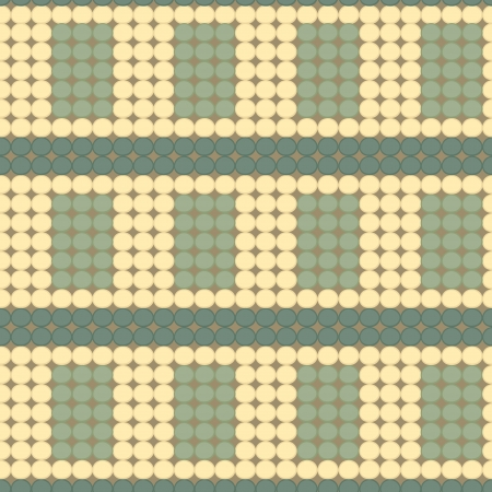 bead work seamless pattern Vector