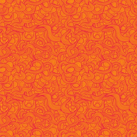 Abstract wavy creative seamless pattern Vector