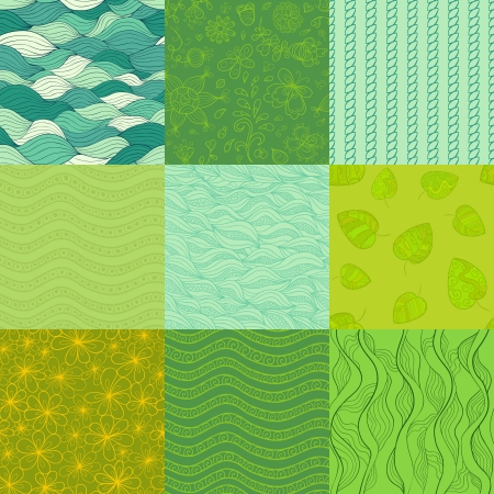 Abstract patterns.  Vector