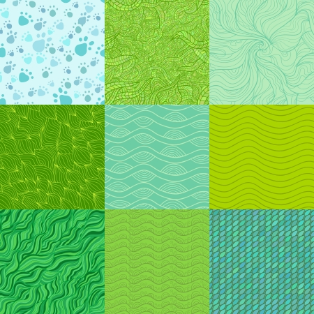 Set of abstract patterns Vector