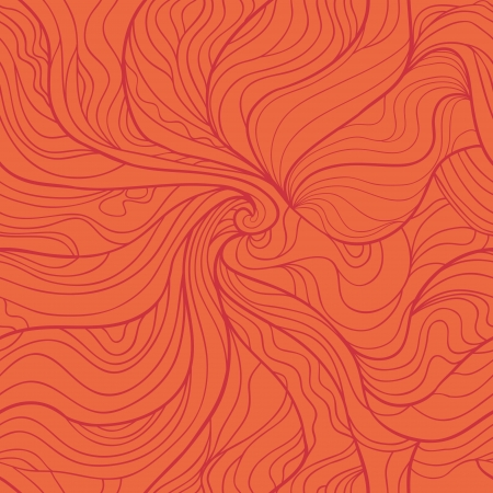 tints: Abstract whirlpool seamless pattern in red tints. Illustration