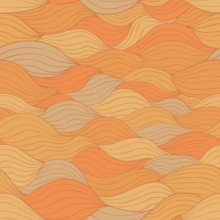 tints: Abstract horizontal weaving shapes, vecor seamless pattern  Retro tints