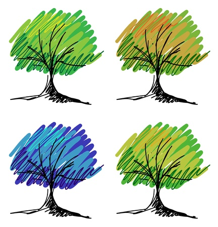 Set of tree sketches