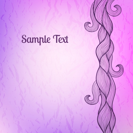 tints: Abstract stylized background in lilac and violet tints